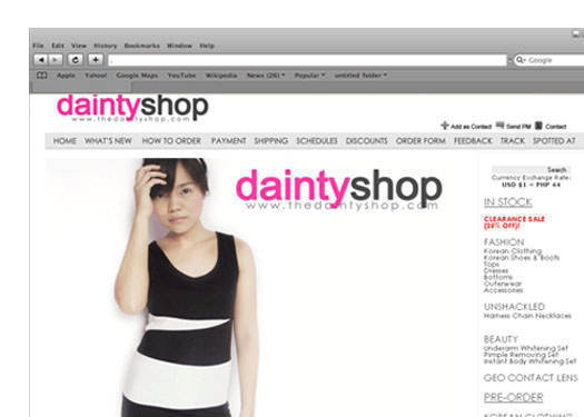 Boutique Of The Week: The Dainty Shop