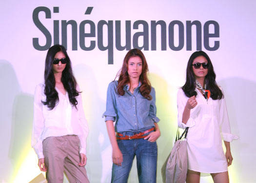 SinÉquanone Spring/summer 2010