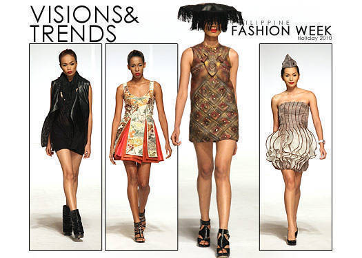 Philippine Fashion Week Holiday 2010: Visions & Trends