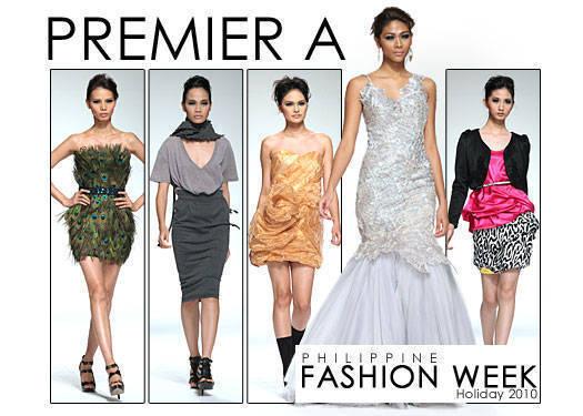 Philippine Fashion Week Holiday 2010: Premier A