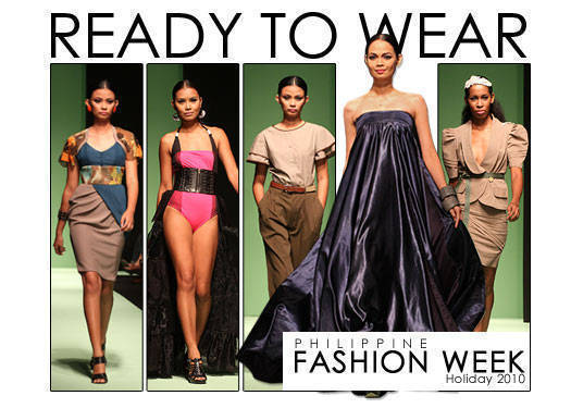 Philippine Fashion Week Holiday 2010: Ready To Wear