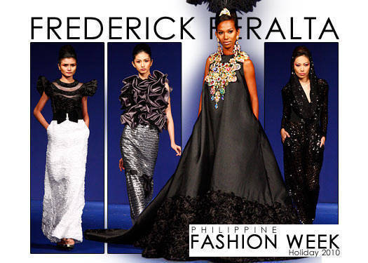 Philippine Fashion Week Holiday 2010: Frederick Peralta