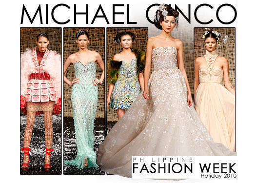 Philippine Fashion Week Holiday 2010: Michael Cinco