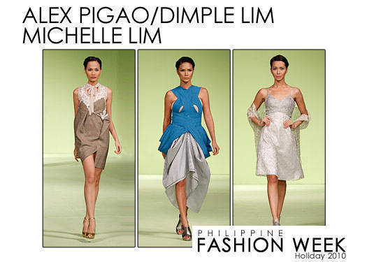 Philippine Fashion Week Holiday 2010: Pigao, Lim & Lim