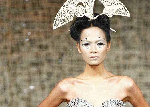 Runway Beauty: Michael Cinco