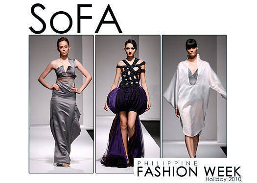 Philippine Fashion Week Holiday 2010: Sofa Graduation Show