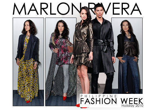 Philippine Fashion Week Holiday 2010: Marlon Rivera