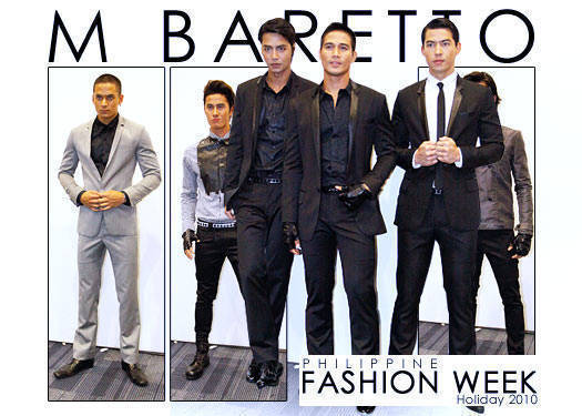 Philippine Fashion Week Holiday 2010: M Barretto