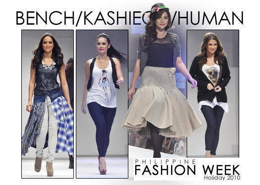 Philippine Fashion Week Holiday 2010: Bench, Human, Kashieca