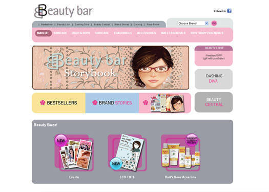 Beauty Bar Goes Online