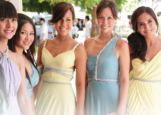The Bridesmaids Wore: Arleen Sipat