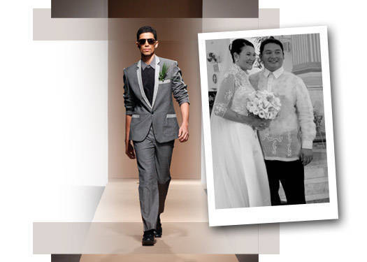 The Groom Wore: Rajo Laurel & Jeffrey Rogador