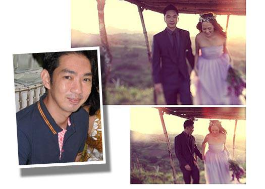 The Groom Wore: Joey Samson