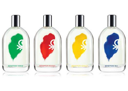 Benetton's Four New Fragrances