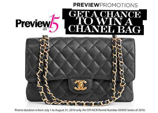 Win A Chanel Bag From Preview!