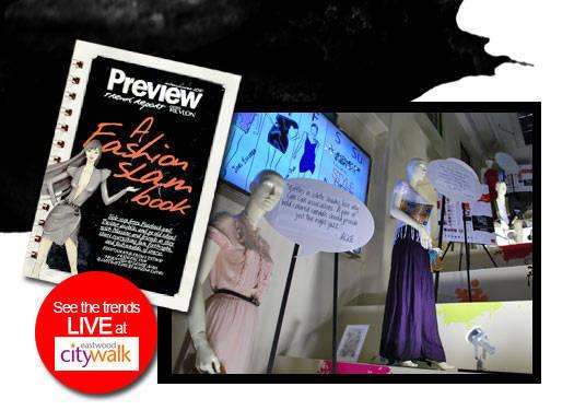 Trendspotting: Preview's Fashion Slam Book