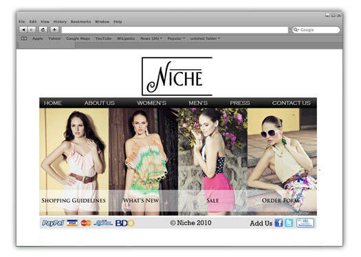 Boutique Of The Week: Niche