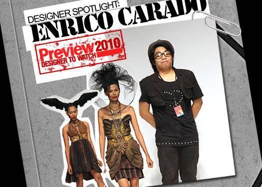 Designer Spotlight: Enrico Carado