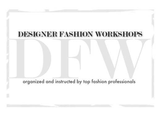 Fashion Design Workshops
