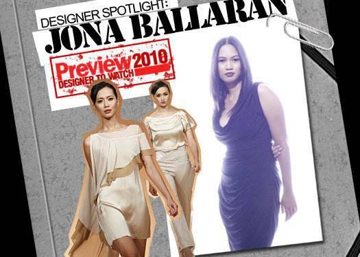 Designer Spotlight: Jona Ballaran