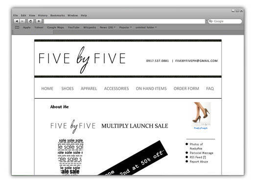 Boutique Of The Week: Five By Five