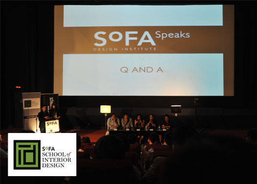 Sofa Speaks & Sofa's New School Of Interior Design