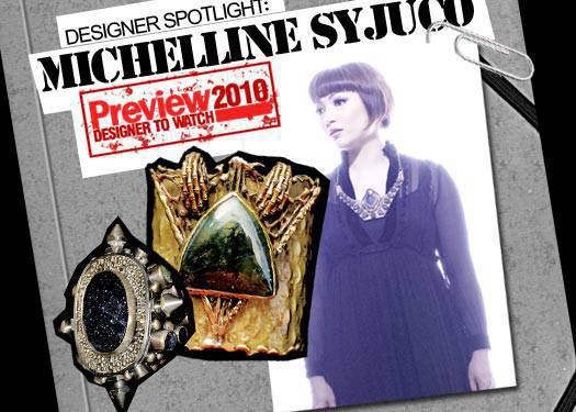 Michelline Syjuco: One Of Preview's Ten Designers To Watch