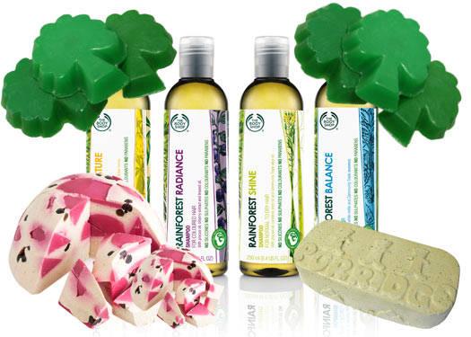 Rainforest-friendly Bathtime Products