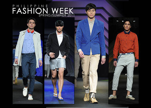 Philippine Fashion Week Spring/summer 2011: Men's Wear