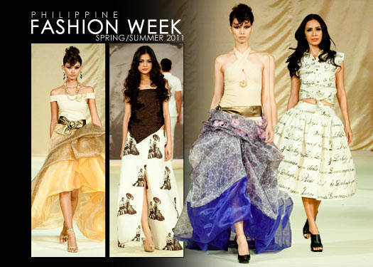 Philippine Fashion Week Spring/summer 2011: Jun Jun Cambe & Lito Perez