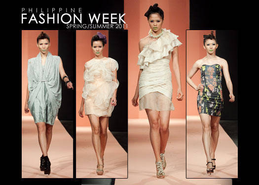 Philippine Fashion Week Spring/summer 2011: Design Fusion