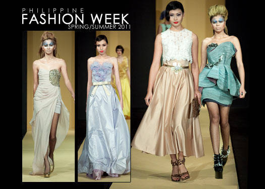 Philippine Fashion Week Spring/summer 2011: Chris Diaz & Jerome Salaya Ang