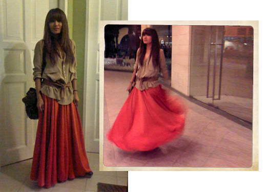 Steal Her Style: Maxi Skirt