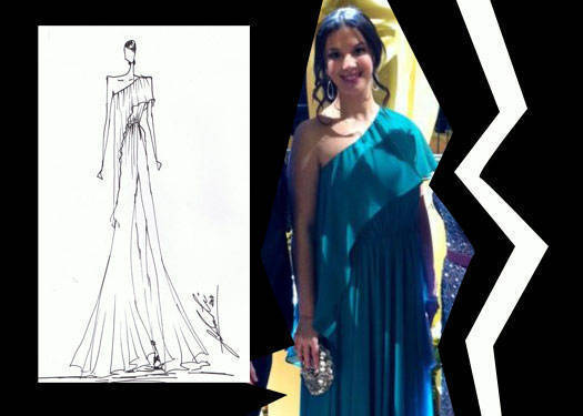 Stefanie Walmsley At The Oscars [updated]