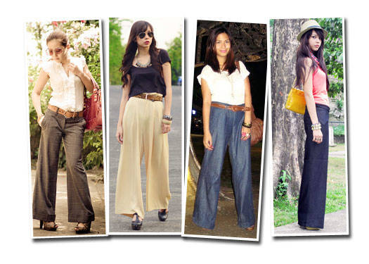 Blogger Challenge: Wide-legged Trousers