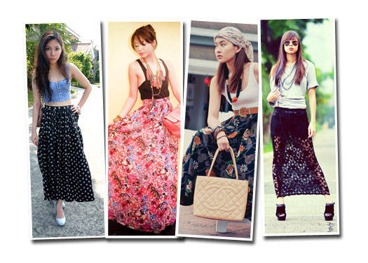 Blogger Challenge: Maxi Skirt