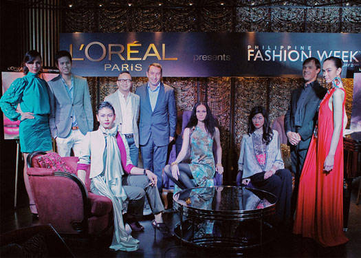 L'oreal Paris: Official Beauty Partner Of Pfw Holiday 2011