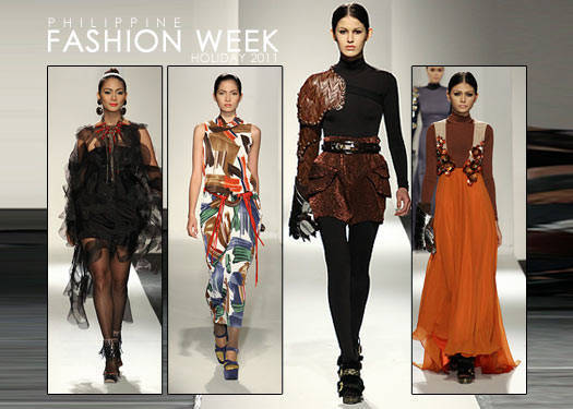Philippine Fashion Week Holiday 2011: Galang, Diaz, Katigbak