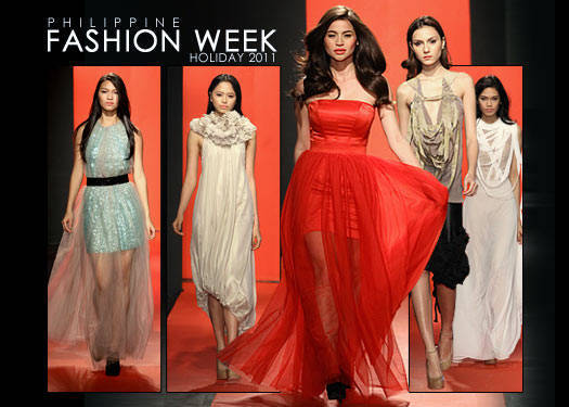 Philippine Fashion Week Holiday 2011: Lyle IbaÑez & Yvonne Quisumbing