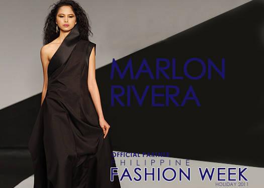 Philippine Fashion Week Holiday 2011: Marlon Rivera