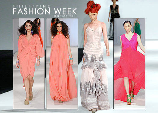 Philippine Fashion Week Holiday 2011: Delos Santos, Ang, Jimenez