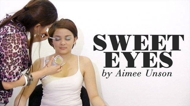 5 Minute Makeup: Sweet Eyes