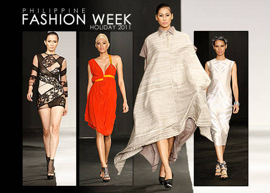 Philippine Fashion Week Holiday 2011: Design Fusion