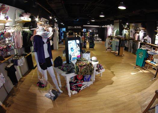 The New Billabong Flagship Store