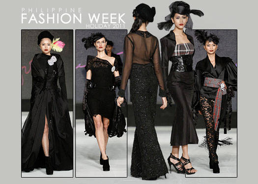 Philippine Fashion Week Holiday 2011: Louie Mamengo