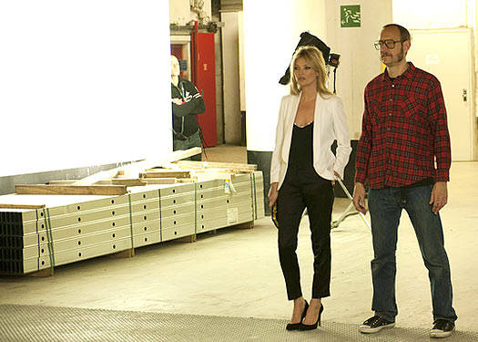 Kate Moss And Terry Richardson Film For Mango!