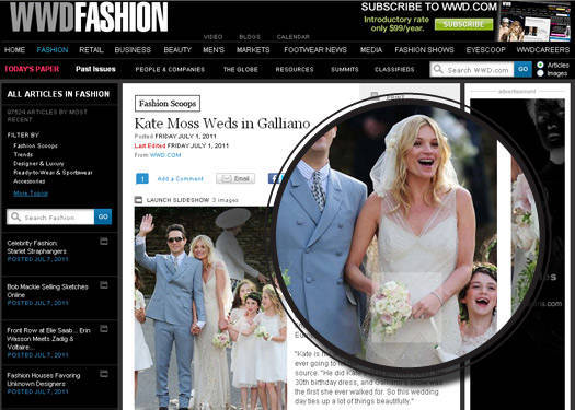 A Married Kate Moss