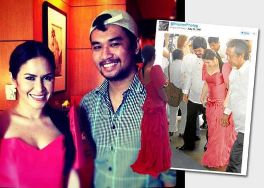 Jinkee Pacquiao Wears Martin Bautista