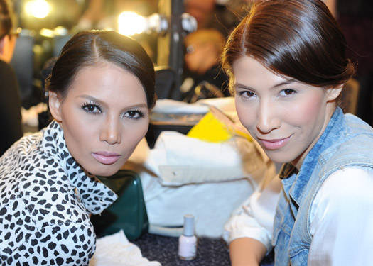 Runway Beauty: Lulu Tan-gan And Jc Buendia Fashion Watch 2011