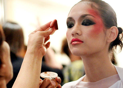 Runway Beauty: Alex Bitong And James Reyes